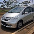 Honda Freed PSD Facelift 2013 Silver Mulus, Rapi Terawat