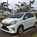 Dijual Toyota Agya G A/T 2014 Putih mutiara Mulus terawat TDP minim