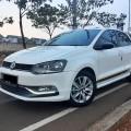 Dijual VW Polo TSI GT 2016 A/T Putih Metallik Mulus terawat Low Km Service record