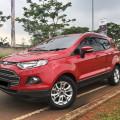Ford Ecosport Titanium Red Metallik Full Orisinil Low Km Proses Kredit Cepat dan dibantu