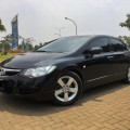 Honda Civic 1.8 A/T 2007 Black Beauty, Low Km Proses kredit cepat dan dibantu