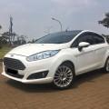 Ford Fiesta S 2014 A/T Facelift putih metallik TDP minim proses kredit cepat dan dibantu