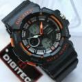 Digitec Man 2053 Rubber Black list Orange