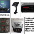paket karaoke keluarga dengan player hardisk 2 tera+ touch screen  lagu dan klip asli asirindo   HARGA 13,75JT