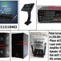 paket karaoke keluarga dengan player hardisk 2 tera+ touch screen  lagu dan klip asli asirindo   HARGA 14,35JT