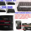 PROMO LEBARAN KHUSUS BULAN JUNI 2017  6.200.000  paket karaoke keluarga dengan player hardisk 2 tera  lagu dan klip asli