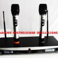 microphone wireless uhf cr88  harga 1,85jt /2mic