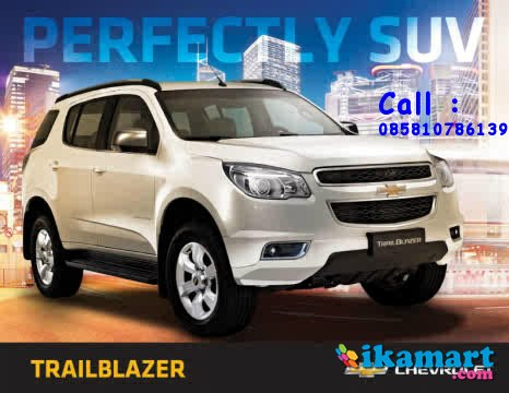 promo chevrolet trailblazer...