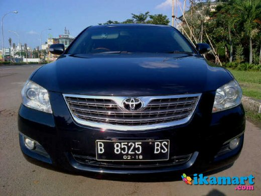 jual toyota camry 3 5 q 2008 hitam service record auto2000 mobil. Black Bedroom Furniture Sets. Home Design Ideas