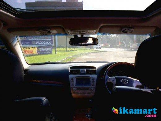 jual toyota camry 3 5 q 2008 hitam service record auto2000 mobil. Black Bedroom Furniture Sets. Home Design Ideas