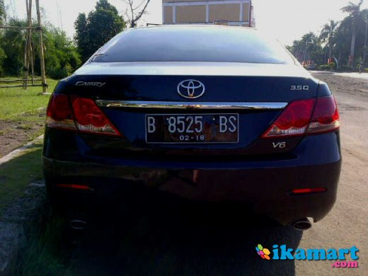 jual toyota camry 3 5 q 2008 hitam service record. Black Bedroom Furniture Sets. Home Design Ideas