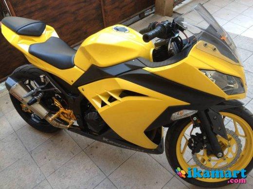 Jual Kawasaki Ninja FI 250 Warna Kuning Bumble Bee