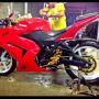 Jual Kawasaki Ninja 250R th 2009 - Modifikasi