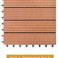 WPC Decking DIY 1 │ Lantai Kayu Komposit untuk Outdoor