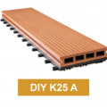 Lantai WPC Decking Tile DIY K25 A