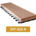 WPC Decking DIY S25 A │ Lantai Kayu Komposit