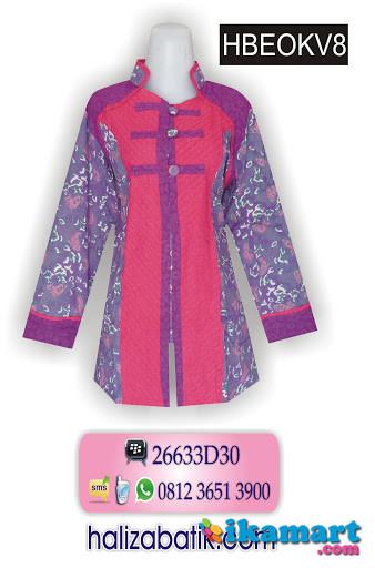 Baju Batik Wanita Terbaru Model Baju Batik Untuk Kerja