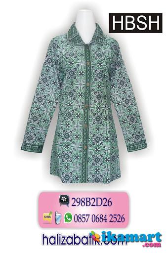 Blus Batik Model Baju Batik Atasan Model Batik Wanita Hbsh