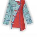 Baju Batik Modern, Desain Baju Batik Wanita, Baju Batik Murah, HBKEKM8