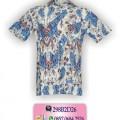 Baju Batik Kantor, Model Baju Terbaru, Baju Batik, CB54HB