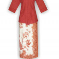 Desain Baju Batik Modern, Model2 Baju Batik, Model Baju Kantor, HBOK4
