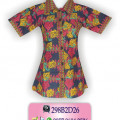 Batik Model Terbaru, Atasan Batik Modern, Baju Batik, KBLP2