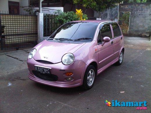 Jual Chery Qq Pink Eks Wanita Mobil