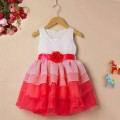 DRESS MERRYKID MERAHPUTIH (A417)