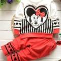 Baju Anak Mickey Love Princil Code : BAP3201
