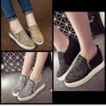 Sepatu kets resleting fashion wanita modis cantik elegant ( BL )