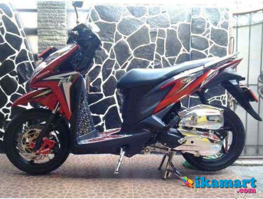 Honda Vario Pgm Fi 125 2013 Modif Bandung