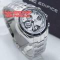 CASIO EDIFICE EF-565 Silver White Dial