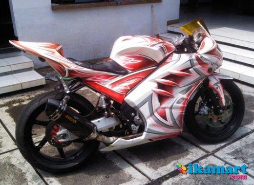Modifikasi Vixion Putih 2012 Vixion 2012 Modif Warna Putih Motor