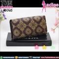 Dompet Fashion Wanita - Motif Batik Brown