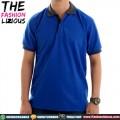 Poloshirt Polos Blue Grey