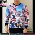 Sweater Pria Import - Popeye Fullprint