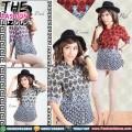 Baju Wanita Import - Batik Style Shirt