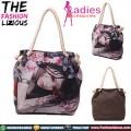 Tas Wanita Import - Pretty Anime Tote Bag