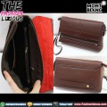 Handbag Pria Branded - Montblanc Brown Zipper
