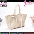 Tas Fashion Wanita - Cream Square Shoulderbag
