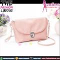 Tas Fashion Wanita - Mini Simple Pink Slingbag
