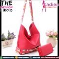 Tas Fashion Wanita - Slingbag Simple Red