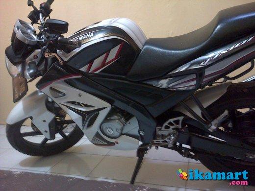 Jual Yamaha Vixion 2012 Putih Modif Motor