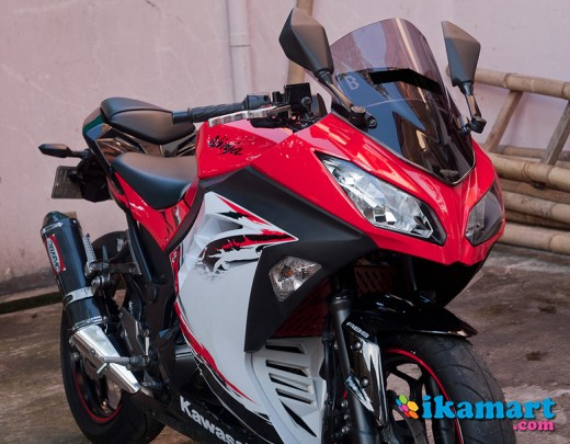 Top modifikasi motor ninja 250 abs
