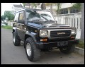 Daihatsu TAFT GT 4x4 Diesel 1991 Warna Hitam Mulus