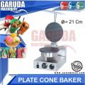 Teflon Cetak Cone Ice Cream ( Plate Cone Baker )