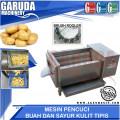 Mesin Pencuci Buah dan Sayuran Berkulit Tebal kapasitas Besar