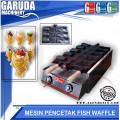 Cetak Waffle Ikan Mulut Terbuka ( FISH WAFFLE BAKER / TAIYAKI BAKER )