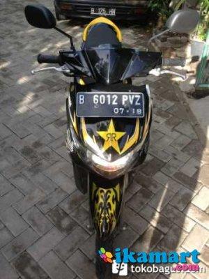 Jual Mio Soul Gt Ym Jet Fi 2013 Kuning Hitam Motor