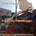 Jual ring basket portabel murah / ring basket dorong melayani pemesanan seluruh Indonesia (WA 0812 8016 4346)